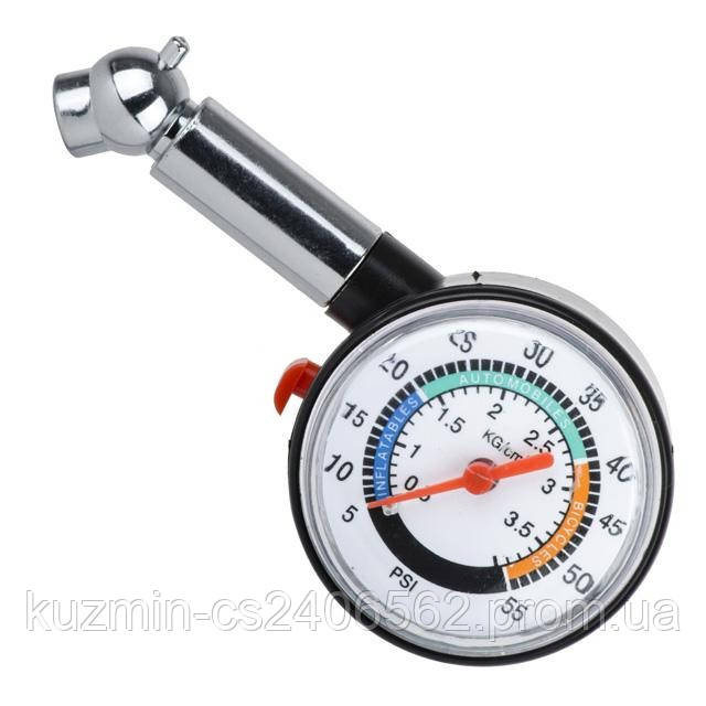 Измеритель давления в шинах цифровой с подсветкой INTERTOOL AT-1003