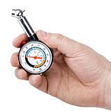 Измеритель давления в шинах цифровой с подсветкой INTERTOOL AT-1003, фото 4