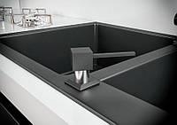 Дозатор для кухонной мойки Kaher Lando черный