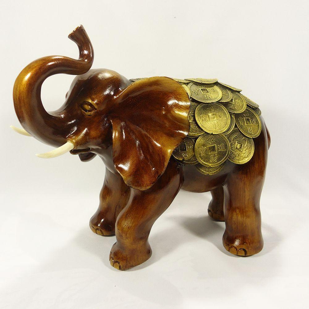 Слон монети 30 см СП102 кол