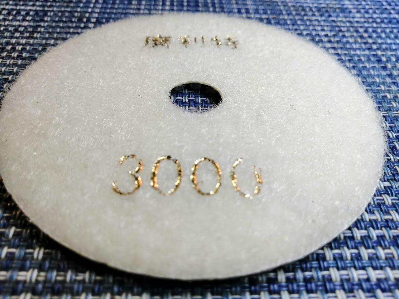 Гибкий алмазный круг (черепашка), TOMAX, Ø100 ММ, зернистость 3000