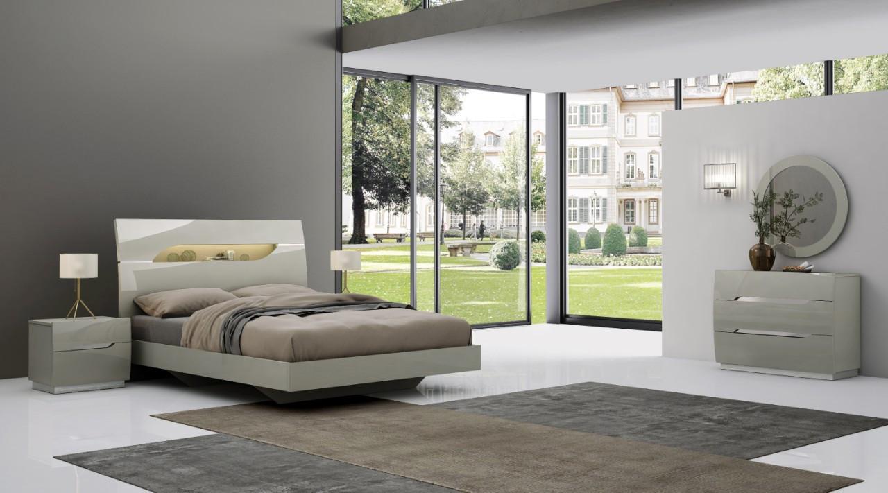 Спальня Торонто (Серый глянец) (раскомплектовуется)