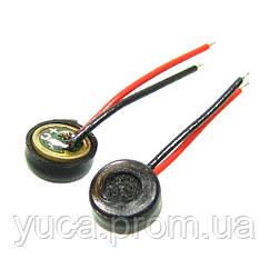Микрофон универсальный большой на проводах (диаметр 4 мм, круглый, аналоговый)