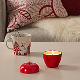 Ароматическая свеча, яблоки, корица, 9 см VINTERFEST, фото 3