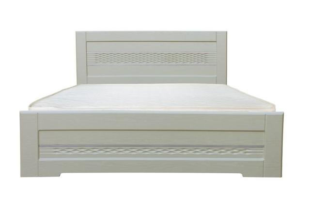 Кровать Соломия, цвет скол дуба белый (2)