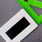 Заготовки для изготовления магнитов, цвет белый. Размер 95х65 мм, под фото 89х59 мм, фото 2