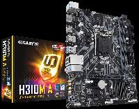 Материнская плата Gigabyte H310M A (s1151/H310/MicroATX), фото 1
