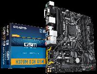 Материнская плата Gigabyte H370M D3H GSM (s1151/H370/MicroATX), фото 1