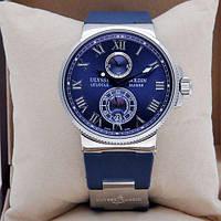 Механические наручные часы мужские  Maxi Marine ААА Blue/Silver