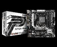 Материнская плата ASRock X370M Pro4 (AM4/X370/DDR4), фото 1