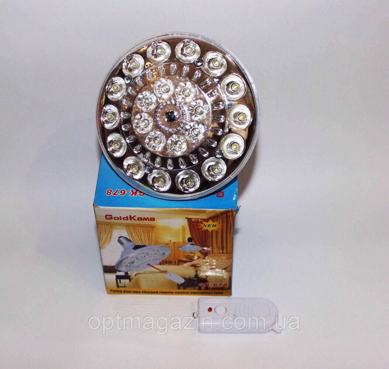 Светодиодная лампа GOLD KAMA GK-678/ Фонарь-лампа светодиодный GK678