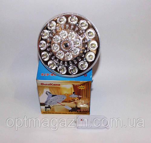 Светодиодная лампа GOLD KAMA GK-678/ Фонарь-лампа светодиодный GK678, фото 2