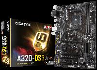 Материнская плата Gigabyte GA-A320-DS3 (AM4/A320/DDR4), фото 1