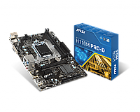 Материнская плата MSI H110M Pro-D (s1151/H110/DDR4), фото 1
