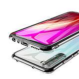 TPU чехол Epic Transparent 2,00 mm для Xiaomi Redmi Note 8, фото 3