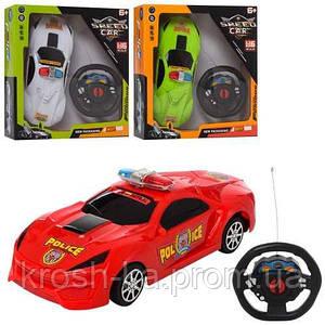 Машина Полиция на радиоуправлении жёлтая Китай 9900-15С