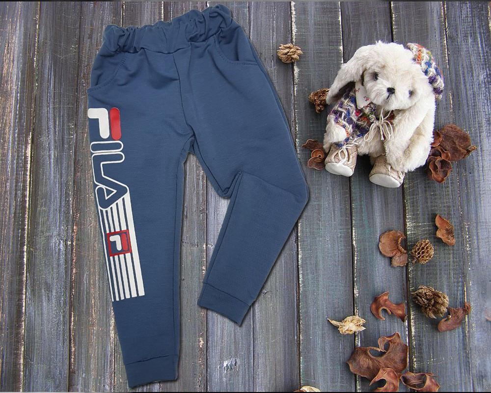 """Спортивные штаны на мальчика """"Фил"""", 2-нитка, р.28-36"""