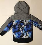 Термо куртки для мальчиков р.104, фото 3
