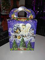 Коробка для конфет Чарівних свят