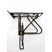 """Велосипедный багажник под дисковые тормоза, алюминиевый, 24""""-29"""",черный цвет."""