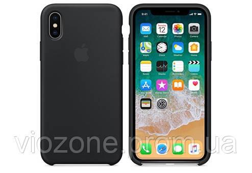 Чехол Silicone Case для iPhone XS Max Серый
