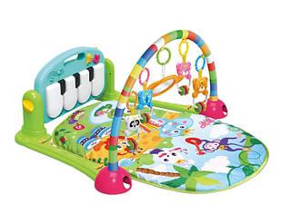 Детский развивающий коврик пианино Huanger