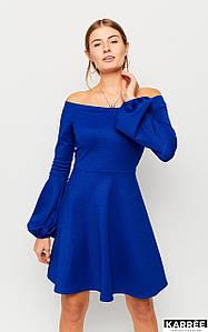 Женское расклешенное платье с открытыми плечами (Астрид kr)