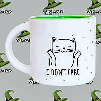 Дизайнерская чашка Ooops i dont care