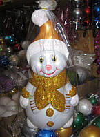 Снеговик под елку. Новогоднее украшение под елку.
