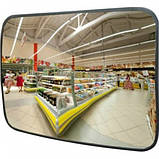 Обзорное зеркало ПРЯМОУГОЛЬНОЕ для помещений 800Х450 (h), фото 2
