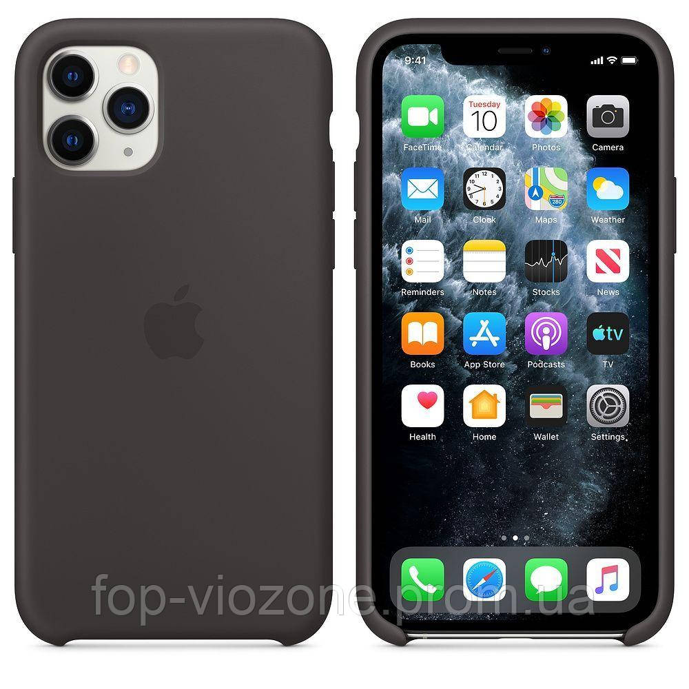 Чехол Silicone Case для iPhone 11 Pro Серый