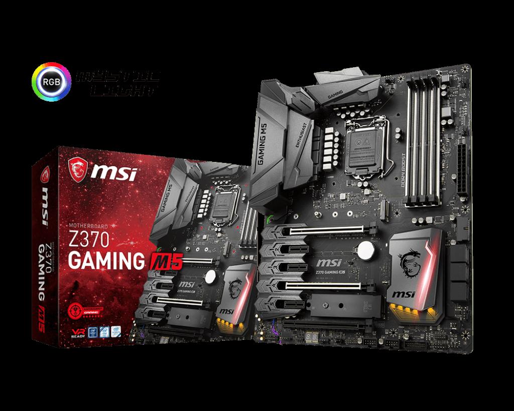 Материнская плата MSI Z370 GAMING M5 (s1151/Z370/DDR4)