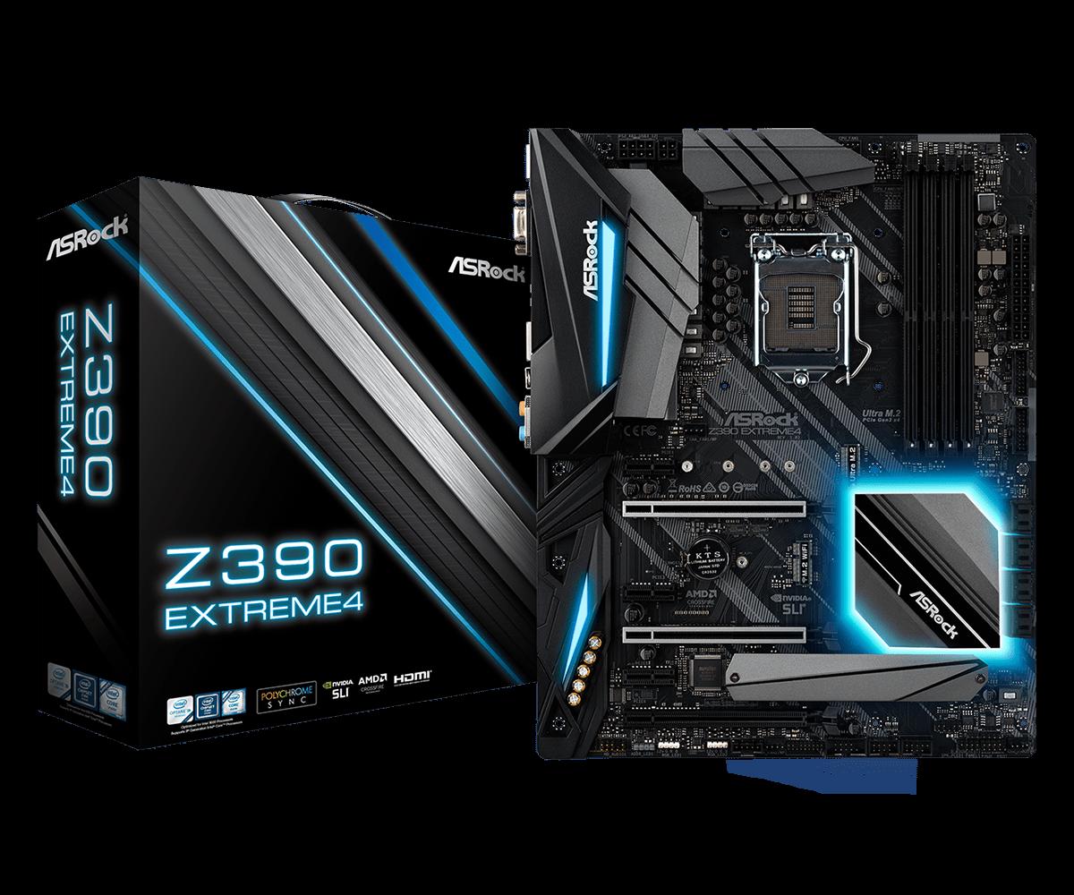 Материнская плата ASRock Z390 Extreme4 (s1151/Z390/DDR4)