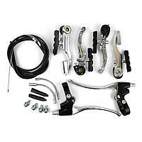 Комплект ободных тормозов V-Brake на велосипед