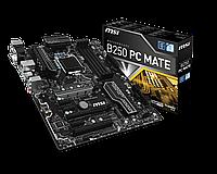 Материнская плата MSI B250 PC MATE (s1151/B250/DDR4), фото 1