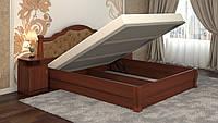 Кровать DA-KAS Татьяна Элегант Люкс с подъемным механизмом без матраца с каркасом