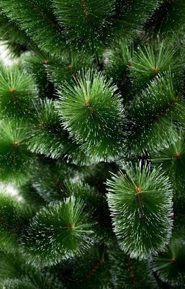 Сосна Микс Заснеженная искуственная к Новому году высотой  1 метрм высокого качества ,материал иголок не горит