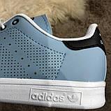 Adidas Stan Smith Recon Light Blue у, фото 5