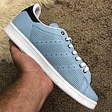 Adidas Stan Smith Recon Light Blue у, фото 7