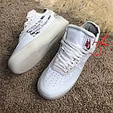 Nike Air Force 1 OFF WHITE White О Му, фото 4