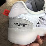 Nike Air Force 1 OFF WHITE White О Му, фото 10