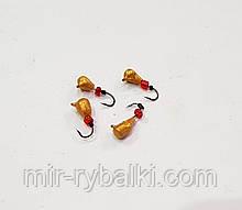 1130 Капля с ушком (цвет покраска Gold)