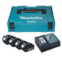 Набор аккумуляторов LXT Makita BL1830 18 В (196697-2)