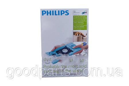 Набор пылесборников (мешков) для пылесоса Philips FC8023/04 883802304010, фото 2
