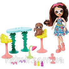 Набор Enchantimals Салон красоты и кукла ленивец Сэла GFN54