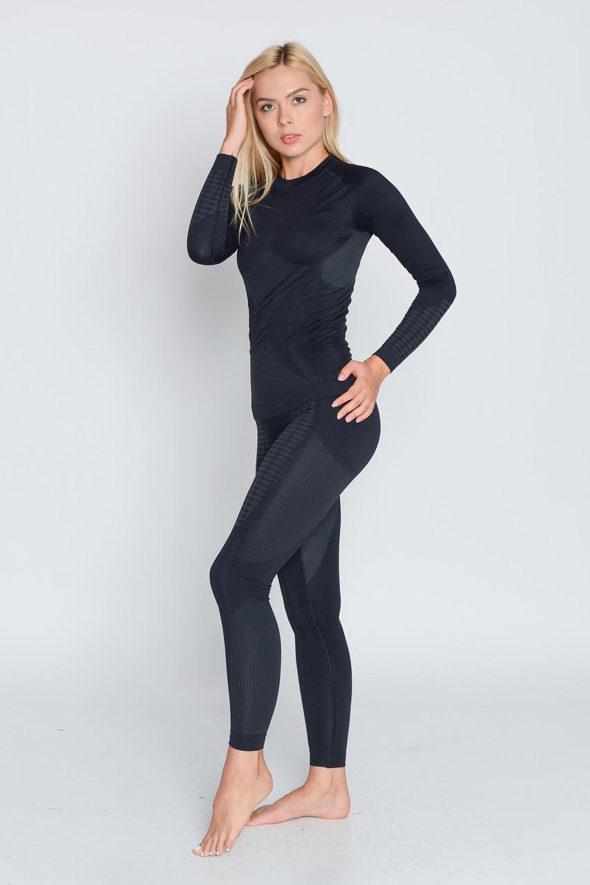 Комплект женского термобелья спортивного HASTER UltraClima зональное бесшовное SportLavka