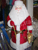Большой Дед Мороз под елку. Новогоднее украшение под елку.
