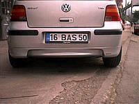 Volkswagen Golf 4 Задняя нижняя юбка (под покраску)