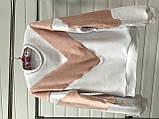 Теплая кофта свитер свитшот толстовка худи на меху Тедди, фото 2