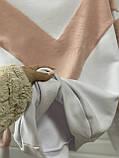 Теплая кофта свитер свитшот толстовка худи на меху Тедди, фото 4